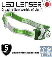 Led Lenser SEO3 Green Headlamp -  Authorised Australian Seller