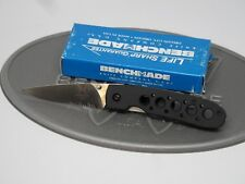 Benchmade 625S-BLK Crawford Leopard Aluminum ATS-34 Liner Lock Folding Knife