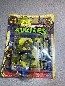 TMNT Ninja Turtles Tokka 1991 Playmates Action Figure - New in Package!! LOOK!!