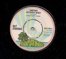 """Cat Stevens Another Saturday Night UK 45 7"""" single +Home In The Sky"""