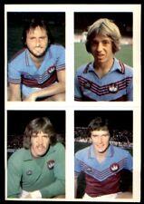 1980-81 STOKE Doyle Football - 243 Donovan ASTON VILLA Daily star /& 20