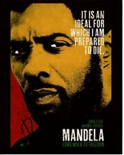 IDRIS ELBA signed autographed NELSON MANDELA photo (1)