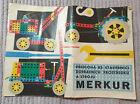 Vintage Merkur (Czech Meccano) Construction Toy Catalogue