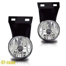 For 1994-2001 Dodge Ram OE Style Clear Lens Chrome Housing Fog Lights Lamps Kit