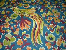 10 Yds Duralee Asher Birds Cotton Drapery Upholstery Fabric For Less