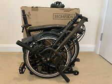 Brompton H6R Folding Bike Black Lacquer Black Edition