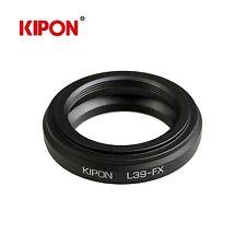 Kipon Adapter for Leica M39 L39 Screw Lens to Fuji X-Pro1 X-E1 Fujifilm Camera