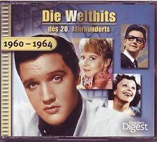 Die Welthits - 1960 - 1964   Reader's Digest  3 CD Box
