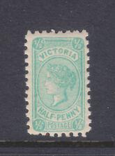 New listing Victoria: 1/2d Qv Blue Green Typeiii, Wmk Ca Sg 416 Muh.