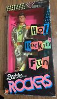 Barbie and the Rockers Hot Rockin' Fun Derek 3173 1986 Barbie NRFB