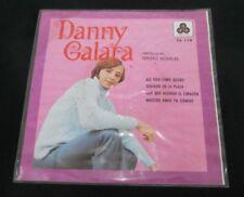 """DANNY GALARA ASI VIVO COMO QUIERO MEXICAN 7"""" EP PS POP EN ESPAÑOL"""
