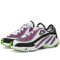 Adidas Originals Solution FYW 98 White Purple Green Torsion UK 9 OG Retro EQT