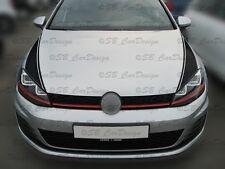 Streifen Stripes Aufkleber Decal Motorhaube Bonnet für VW GOLF VII 7 GTI Variant
