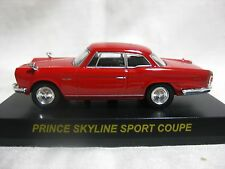 NISSAN PRINCE SKYLINE SPORT COUPE Red Kyosho 1:64 Scale Diecast Model Car