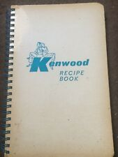 KENWOOD CHEF - Recipe Book - 1st edition - (1960) Excellent condition.