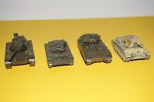 RFD17] Roco Mini Tank - Dbgm - Tracked Vehicles Military Vehicle 4x in Set 1/87
