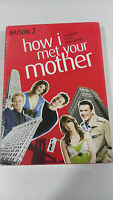 HOW I MET YOUR MOTHER SEASON 2 COMPLETE 3 DVD NEW AND SEALED Ingles Frances