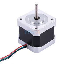 Step Stepper Motor Nema 17 40mm 4-wire 1.7A Bipolar 2-Phase for 3D Printer/CNC