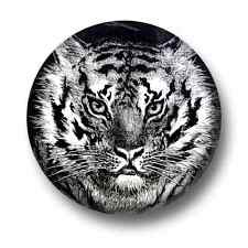 Tiger 1 Inch / 25mm Pin Button Badge Tigers Lions Big Cats Jungle Cute Rawr Roar