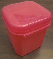 Tupperware A 167 Junior Bellevue Dose Box 1,2 l Rosa Pink Dunkelrosa Neu OVP