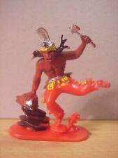 Jean Hoefler/Höfler - INDIAN HOLDING TOMAHAWK - Red/Painted