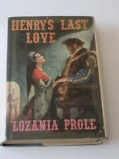 HENRY'S LAST LOVE Lozania PROLE Biography Catherine PARR 1958 1st Edition RARE