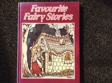 Favourite Fairy Stories M Read vintage 1979 hardcover Ward Lock children's book