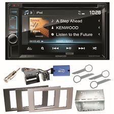 Kenwood DDX-4017DAB Bluetooth CD DAB+ USB Einbauset für Ford Fusion Galaxy S-Max