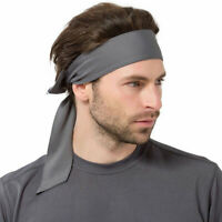 Women Men Sport Gym Yoga Bandana Headband Long Hair Head Running Cycling Turban