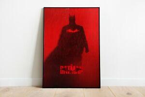 The Batman 2022 Movie Print Poster Wall Art A4 A2 Maxi Films DC Comics - 1940