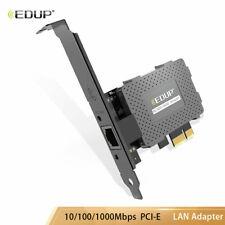 PCI-E PCI Express 10/100/1000Mbps Desktop Gigabit Ethernet Lan Network Card