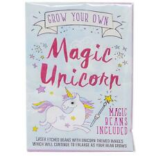 Grow Your Own Magic Unicorn Beans Laser Engraved Messages Kids Gardening Gift
