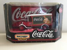 Matchbox Collectibles 1926  FORD RED AND WHITE Coca-Cola Coke 1:43 SCALE