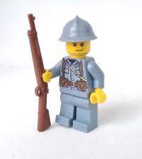 LEGO Custom WWI French Rifleman Minifigure - Rare!
