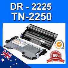 1x TN2250 Toner + 1x DR-2225 Drum Cartridge for Brother HL2242D HL-2250 DCP-7060