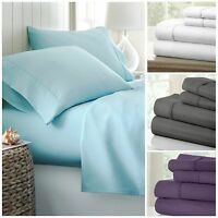 Hotel Quality Egyptian Comfort 4-Piece Bed Sheet Sets - 4 Luxury Patterns