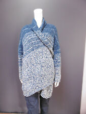 45rpm cotton & wool shetland long cardigan NEW with TAG    size : U