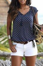 849 34 bis 44 mit Pailletten NEU Vivance Shirt Bluse Damen Gr