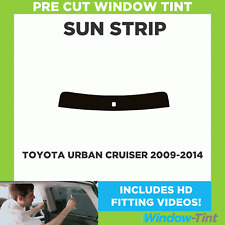 Pre Cut Window Tint - Toyota Urban Cruiser 2009-2014 - Sunstrip