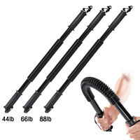Heavy Duty Spring Chest Power Bar Twister Upper Body Arms Strength Training