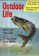 1958 Outdoor Life - June -Alligators;Miramichi Salmon;Fibreglass boats;Cuttyhunk