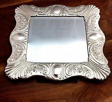 Valerio Cecconi 20thC Italian Sterling Silver Framed Mirror: Florence 1950–2000