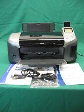 Epson Stylus R320 Digital Photo CD DVD Inkjet Printer with Manual, CD; Tested