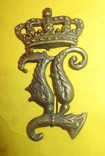 Casque à pointe, spikelmet, pickelhaub: Plaque Bavaroise pour casque à chenille.