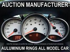 Porsche Boxster Chrome indicateur de vitesse jauge cadran anneaux lunette trim