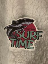 Summer Surfing Sticker Shark