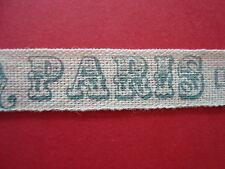 SHABBY Chic Stile Vintage Parigi tessuto di cotone MULTIFUNZIONE 15 mm x 2,5 m, Tutti Mestieri