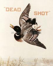 Antique Hunting 8X10 Dead Shot Smokeless Powder Photograph Reprint