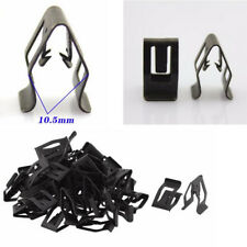 50x Car Metal Interior Console Dashboard Panel Trim Metal Retainer Fastener Clip