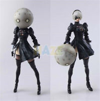 "Anime NieR:Automata 2B YoRHa No. 2 Neal 6"" PVC Action Figure Model Toy"